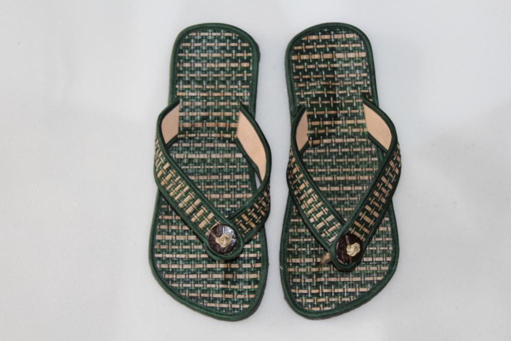 sandal hotel bali jepit pandan biru